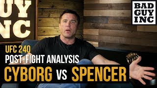 Greatest women's MMA fight ever? Cris Cyborg vs Felicia Spencer...