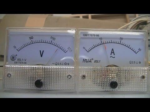 ammeter hook up