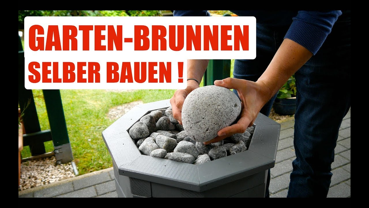 diy garten brunnen selber bauen anleitung deutsch german youtube. Black Bedroom Furniture Sets. Home Design Ideas