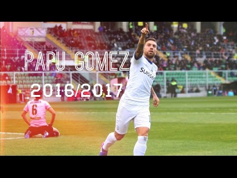 Papu Gomez | 2016/2017 | skill goals and assists
