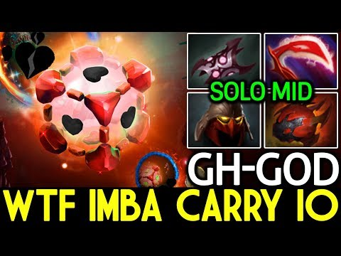GH-God [IO] WTF Imba Carry Build IO Middle 7.15 Dota 2