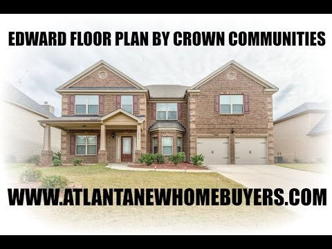 Abigail Floor Plan Built By Crown Communities   YouTube