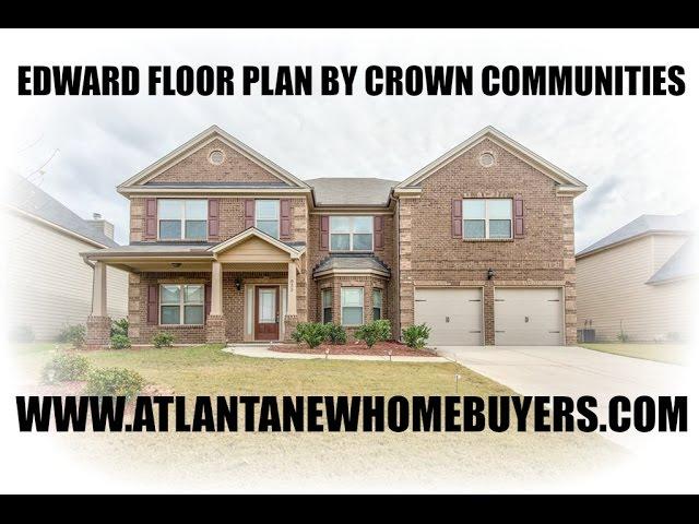 Edward Floor Plan By Crown Communities Youtube