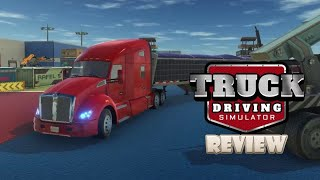 Truck Driving Simulator (Switch) Review (Video Game Video Review)