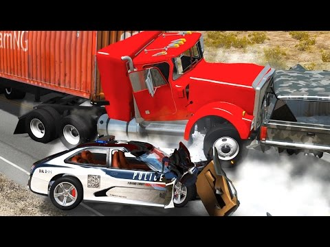 BeamNG.Drive - Ultimate Crashes Compilation 1 HOUR +