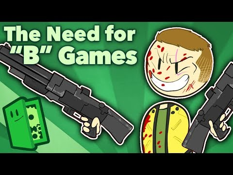 """Wolfenstein vs Call of Duty - The Need for """"B"""" Games - Extra Credits"""