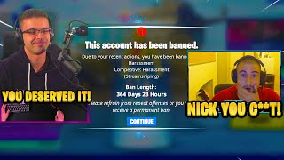 NICK EH 30 gęts PRO *BANNED* Live for THIS! 🤯 (Fortnite)