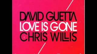 Download David Guetta feat. Chris Willis - Love Is Gone (Fred Rister & Jo) MP3 song and Music Video