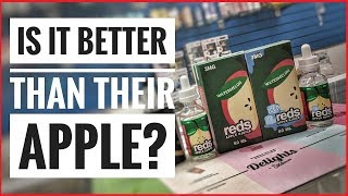 Watermelon Reds Apple eJuice Review (with Ice too)
