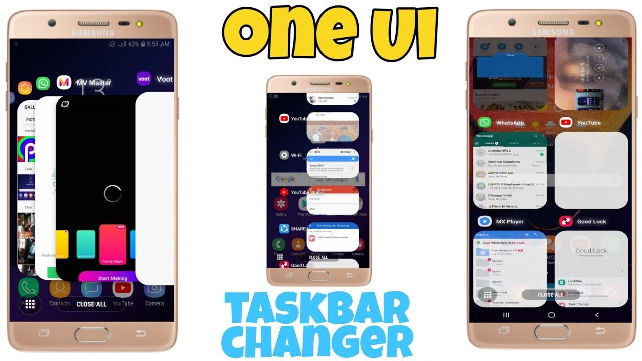 One Ui Goodlock Taskbar Any Samsung Device How Install Full