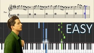 Charlie Puth ft. Selena Gomez - We Don't Talk Anymore - EASY Piano Tutorial + SHEETS