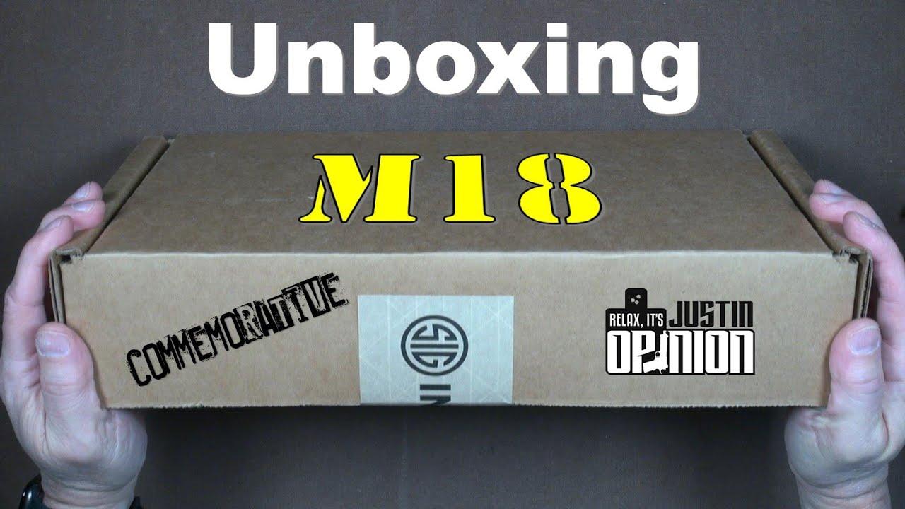Download SIG Sauer M18 Commemorative Unboxing