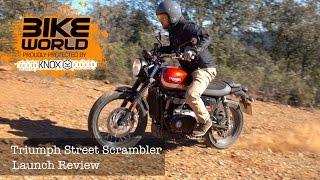 Triumph Street Scrambler Launch Review (first Ride)