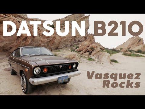 1974 Datsun B210 to Vasquez Rocks: Freedom to Explore