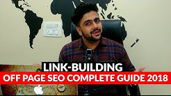 LinkBuilding | Link-building-Off Page SEO Complete Guide 2018 | Backlinks  | Digital Marketing