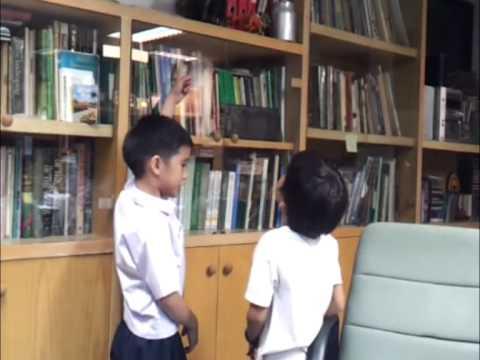เด็กไทยพูดอังกฤษสำเนียงแท้ได้เอง