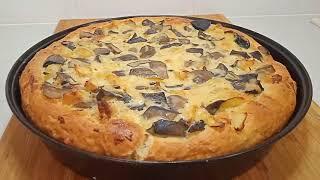 Дрожжевое тесто заранее / Пирог с грибами и сыром / Рецепты PIONA
