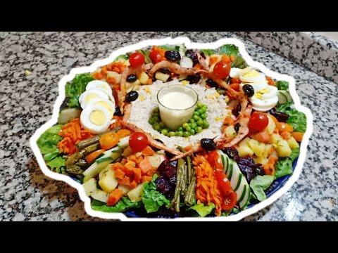سلطة-مغربية-بالخضر-سهلة-ورائعة-للضيوف-و-المناسبات-بمكونات-اقتصادية--salade-marocaine