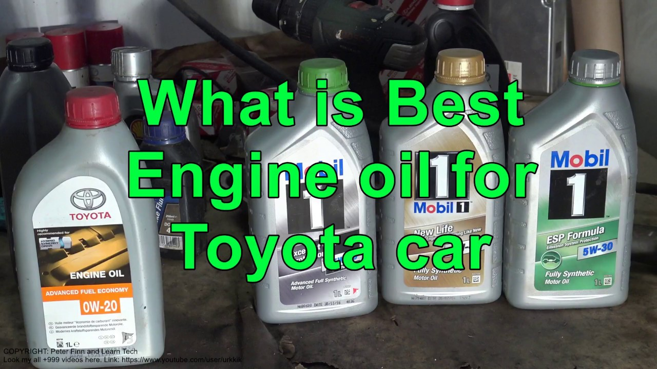 🥇 Best motor oil for Toyota Camry | Top rated synthetic
