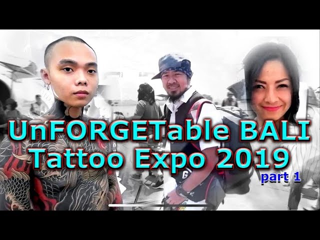unforgetable bali tattoo expo 2019 part 1 by hendric shinigami