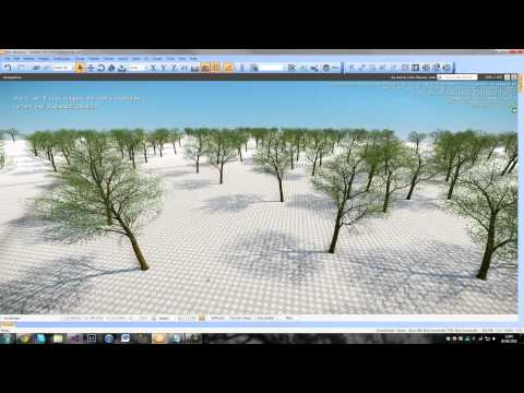 Realtime Seasonal Vegetation Part 2 - CryENGINE3