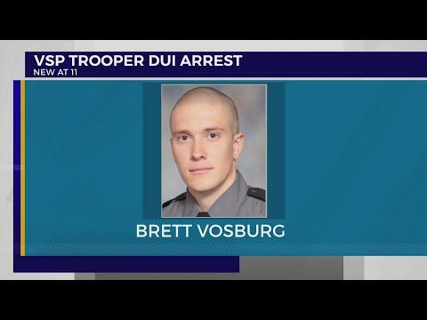VSP Trooper Arrested For DWI Placed On Administrative Leave