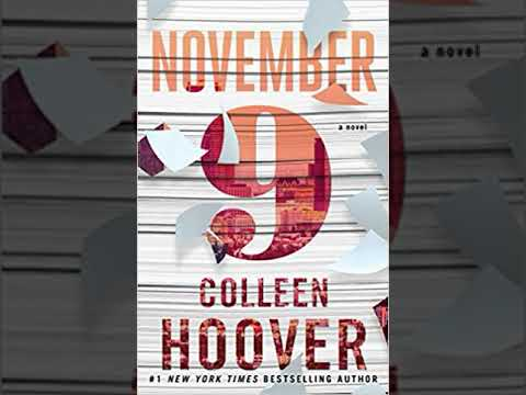 Honest Book Review of NOVEMBER 9: A NOVEL by COLLEEN HOOVER