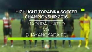 Video Gol Pertandingan Madura United vs Bhayangkara Surabaya United