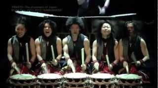 """海外が称賛する、世界が認めた和太鼓集団""""倭 YAMATO""""!! 日本で活躍する..."""