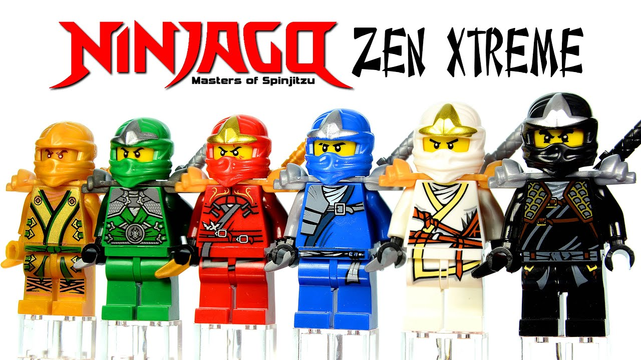 Lego Ninjago Zen Xtreme Knockoff Minifigures Set 28