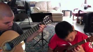 Tetris Theme - 'Ukulele and Guitar