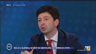 Omnibus - Ira di Calenda, sconti di Gentiloni: governo e voto (Puntata 20/02/2018) thumbnail