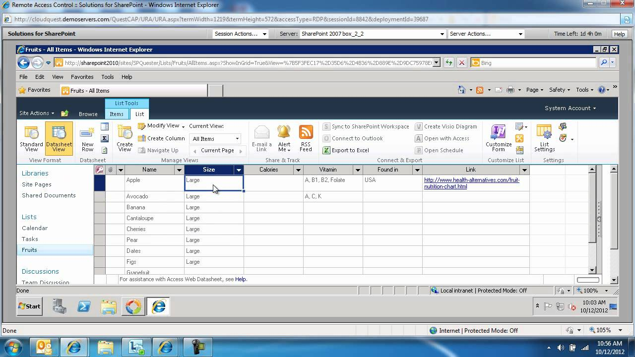 Edit in datasheet in metadrive 3. 0 youtube.