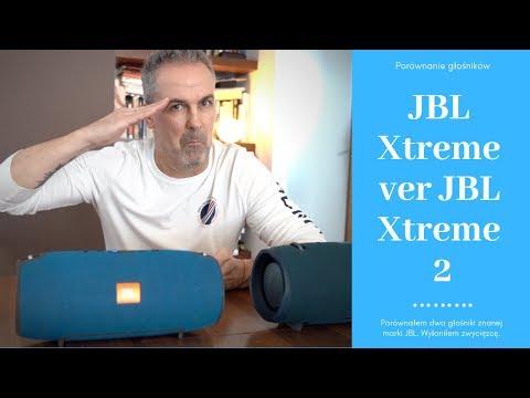 JBL Xtreme ver JBL Xtreme 2 - porównanie głośników.