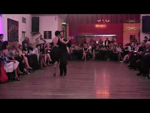 Milonga, baile por Kei Hasegawa, Germán Landeira, Tango Buenos Aires