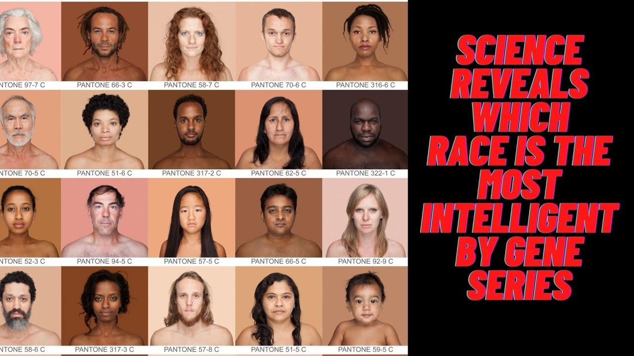 A Doctor shows the scientific study of which race is the most intelligent by DNA series