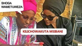 Hiki Ndio KILICHOWAKUTA Wema Sepetu Na Aunt Ezekiel Msibani Kwa Patrick Wa MunaLove