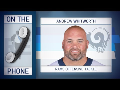 Rams OT Andrew Whitworth Talks L.A. Fires & More w/Rich Eisen | Full Interview | 11/12/18