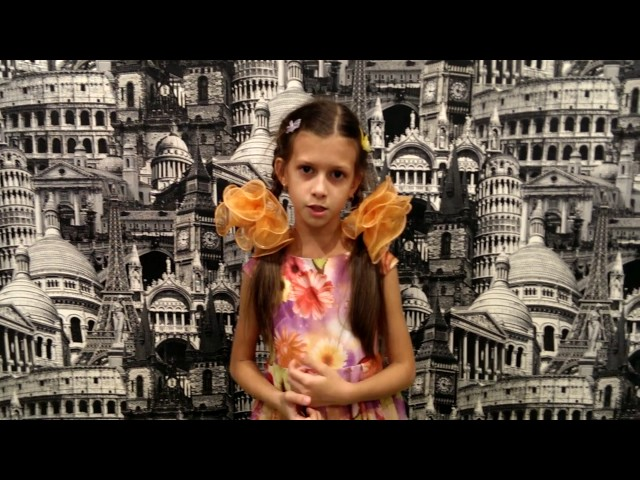 Изображение предпросмотра прочтения – МоисееваСофья читает произведение «Ранняя осень» В.Я.Брюсова