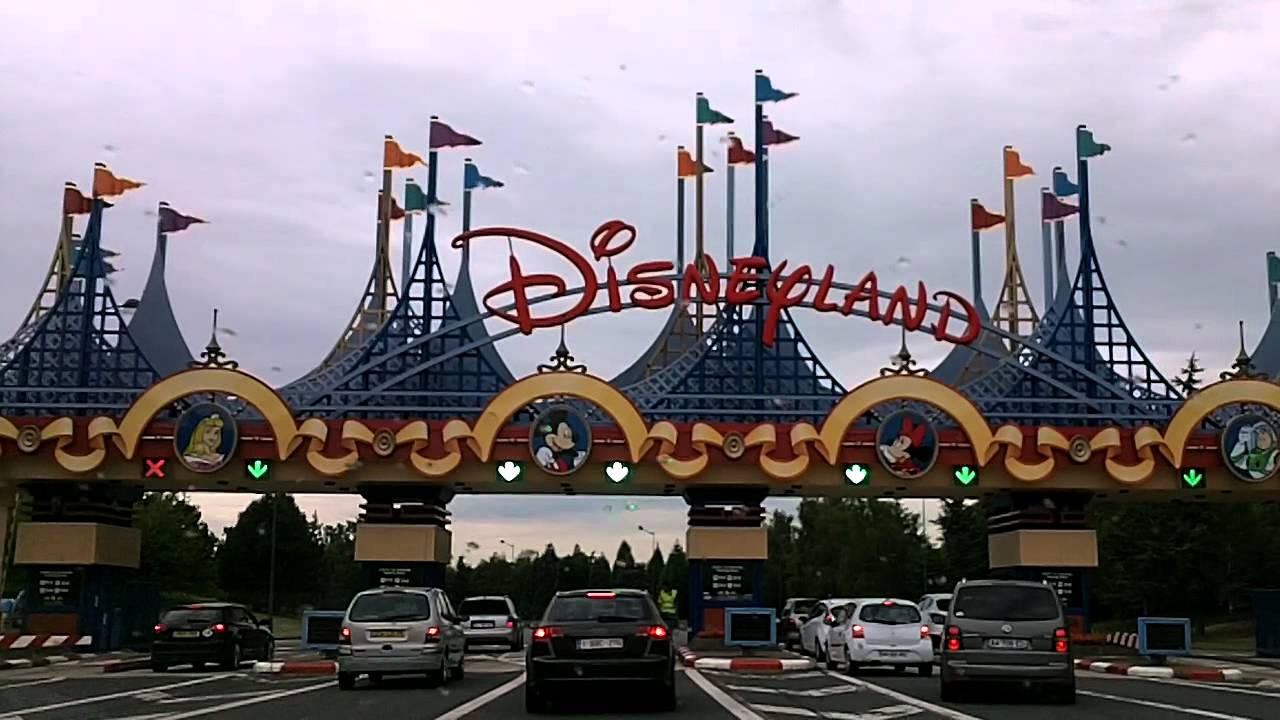 Car Park At Disneyland Paris