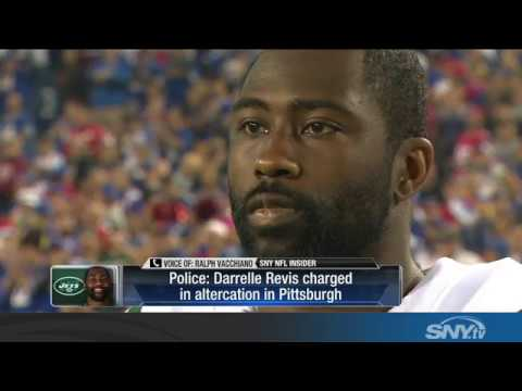 New York Jets CB Darrelle Revis charged with assault
