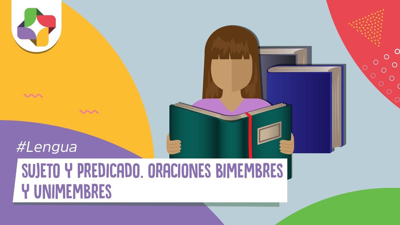 9b742e088242 Oraciones bimembres y unimembres - Sujeto y predicado - YouTube