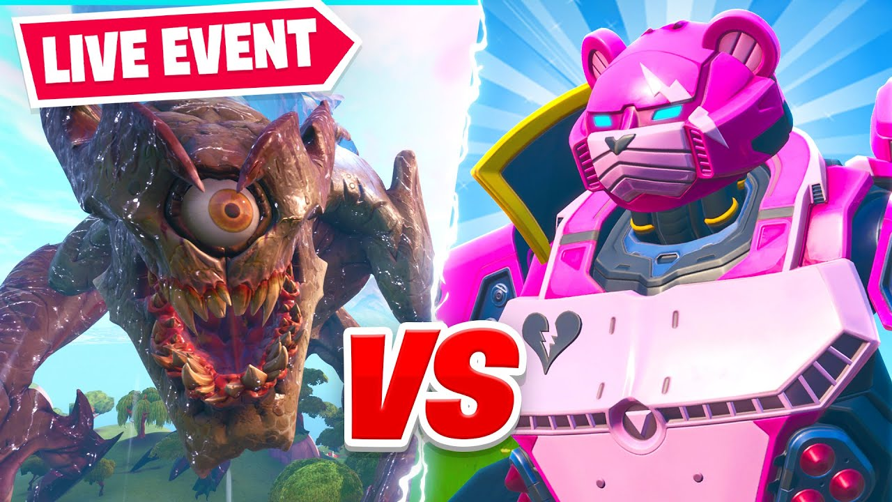 Fortnite *LIVE* Monster VS Robot Final Showdown  Event! thumbnail