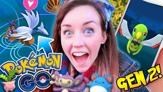 Pokemon GO! - AMAZING GEN 2 SPAWNS! 😱 SKARMONY AND MORE! 🙌