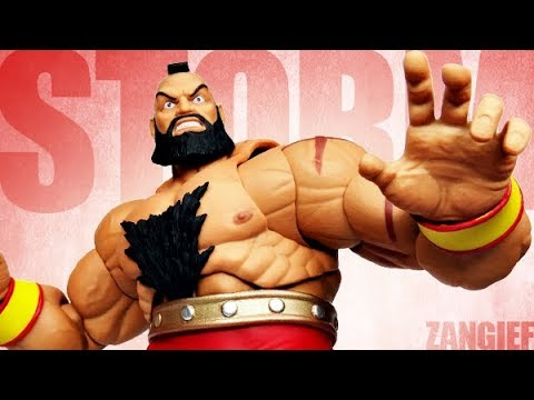Storm Collectibles - Street Fighter V - Zangief Review