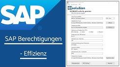 SAP Berechtigungen effizient managen und maßgeschneiderte Rollen automatisch erstellen