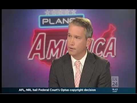 US Studies Centre research associate Tom Switzer on ABC TV's Planet America