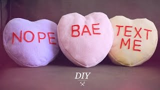 Conversation Heart Diy - Valentine's Day