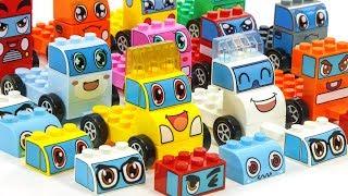 쓰레기차가 치치랜드 조각을 모아주면 새로운 모습에 친구들이 만들어져요! 장난감티비 동영상