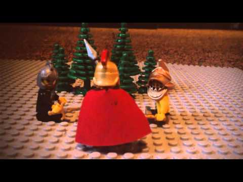 Lego stop motion with King Arthur           [This is a VERY old film! Be careful!!!]